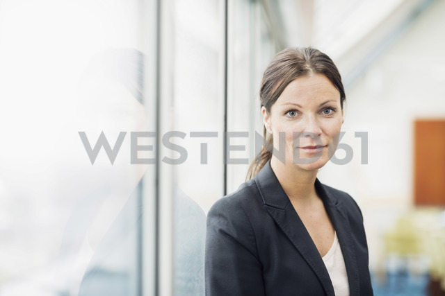 Portrait of confident businesswoman in office - MASF05517