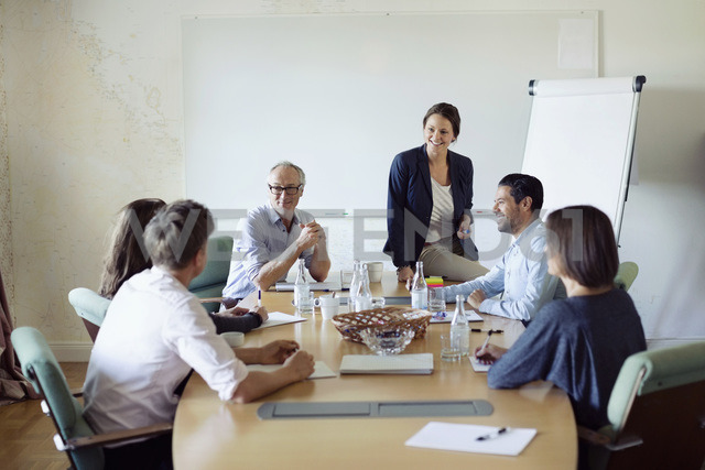 Group of business people in conference meeting - MASF05645