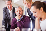 Group of business people in a meeting - MASF06446