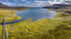 United Kingdom, Scotland, Northwest Highlands, Isle of Skye, Loch Slapin - STS01493