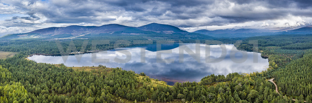 United Kingdom, Scotland, Highlands, Cairngorms National Park, Glenmore Forest Park, Loch Morlich - STS01502