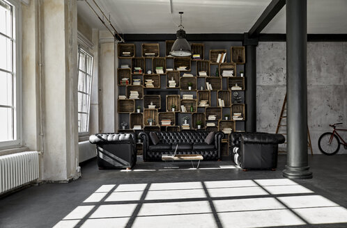 Interior of a loft flat - PDF01578