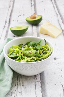 Zoodels with avocado basil pesto - LVF06897