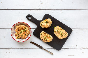 Bread with obazda and chives - SARF03687