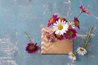 Marguerites and envelope - MYF02033