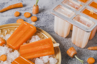 Carrot ice lollies - RTBF01232