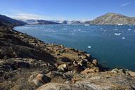 Greenland, East Greenland, Sermilik Fjord, Johan Petersens Fjord and inland ice - ESF01624