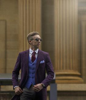 Portrait of fashion blogger Steve Tilbrook - BEF00010