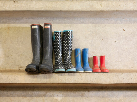 Four Pairs Of Wellington Boots - CUF00089