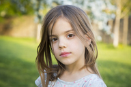 Portrait of little girl in the garden - LVF06932