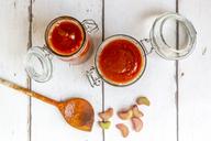 Homemade tomato rhubarb ketchup - SARF03723