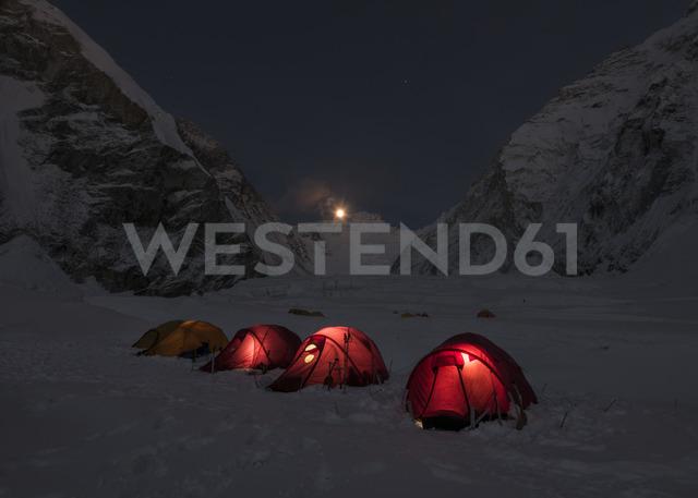 Nepal, Solo Khumbu, Everest, Western Cwm at night - ALRF01136 - Alun Richardson/Westend61