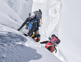 Nepal, Solo Khumbu, Everest, Mountaineers at Western Cwm - ALRF01142