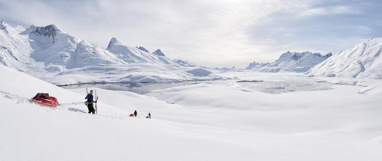 Greenland, Schweizerland Alps, Kulusuk, Tasiilaq, ski tourers - ALRF01215