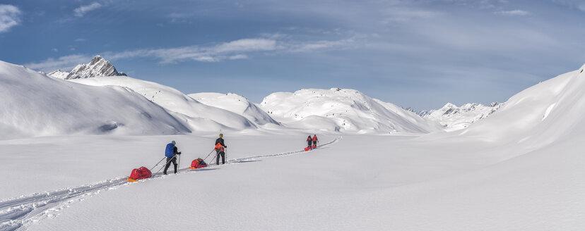 Greenland, Schweizerland Alps, Kulusuk, Tasiilaq, ski tourers - ALRF01224