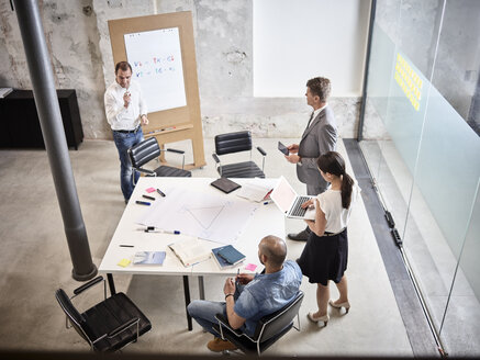 Business people having a meeting in conference room - CVF00378