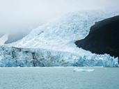 Argentina, Patagonia, El Calafate, Puerto Bandera, Lago Argentino, Parque Nacional Los Glaciares, Estancia Cristina, Spegazzini Glacier, iceberg - AMF05712
