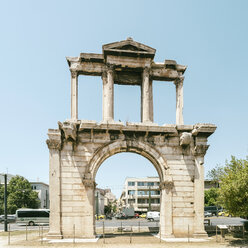 Greece, Athens, Arch of Hadrian - TAMF01072