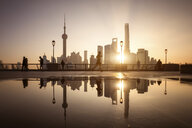 China, Shanghai, Skyline in the morning - SPP00036