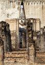Thailand, Sukhothai, Sukhothai Historical Park, Wat Si Chum - HLF01082