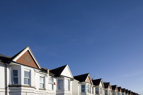 Houses and blue sky - ISF00680