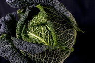 Savoy cabbage, close up - MMAF00344