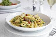 Fresh pasta dish in bowl - CUF02376