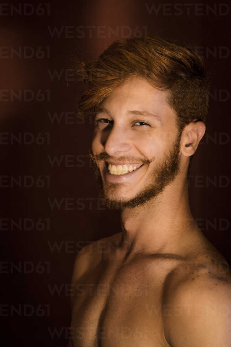 Portrait Of Young Man With Red Hair Smiling Cuf03769 Aziz Ary Neto Westend61