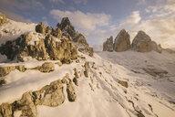 Tre Cime di Lavaredo area, South Tyrol, Dolomite Alps, Italy - CUF03865