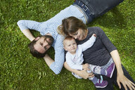 Couple with their baby girl - CUF05987