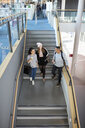 University students going down stairs - CUF06071