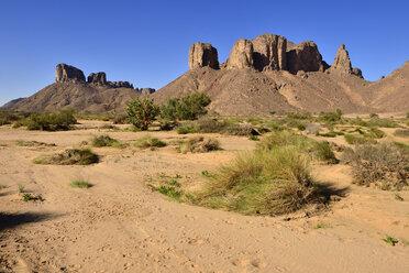 Algeria,Tassili N'Ajjer National Park, Oued, Wadi Essendilene - ESF01665