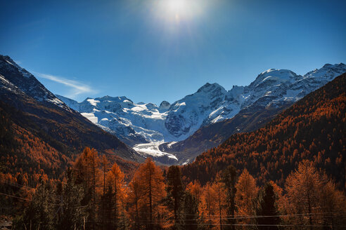 Scenic view, Engadin, Saint Moritz, Switzerland - CUF07556
