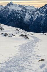 Germany, Bavaria, Berchtesgaden Alps, View to Schneibstein - HAMF00288