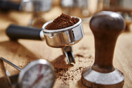 Espresso grounds and coffee tamper - CAIF20537