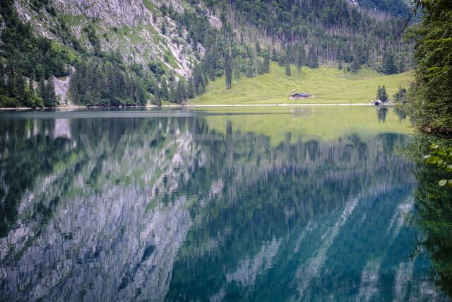 Germany, Bavaria, Berchtesgaden Alps, Obersee - HAMF00315
