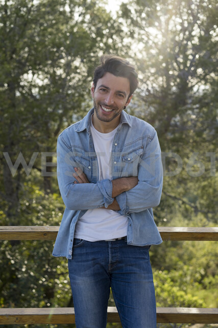 Smiling young man - AFVF00470
