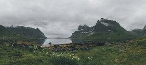 Norway, Lofoten, Moskenesoy, Kjerkefjord - GUSF00841
