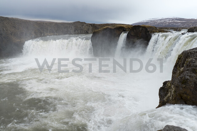 Iceland, North of Iceland, waterfall - AFVF00532
