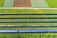 Germany, Baden-Wuerttemberg, Schurwald, solar plant - STSF01570