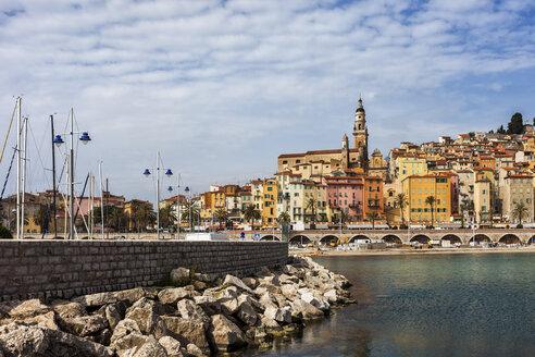 France,  Provence-Alpes-Cote d'Azur, Menton, Old town - ABOF00357