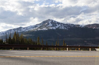View of highway and Copper Mountain, Colorado, USA - ISF05247