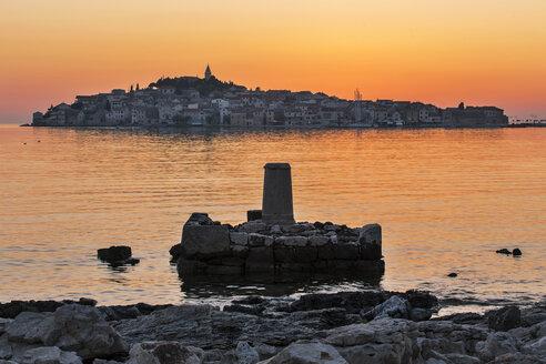 Croatia, Primosten in the evening light - FPF00156