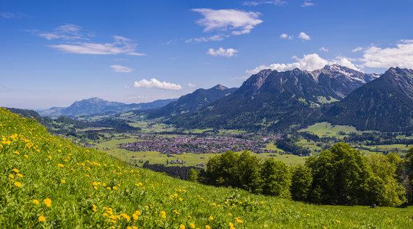 Germany, Bavaria, Oberallgaeu, Oberstdorf - WGF01191