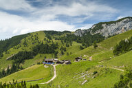 Austria, Tyrol, Maurach, Rofan Mountains, mountain huts - UMF00818