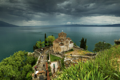 Macedonia, Ohrid, Church of St. John at Kaneo - FPF00162