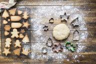 Baking gingerbread cookies - SKCF00468