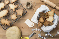 Various home-baked gingerbread cookies - SKCF00474
