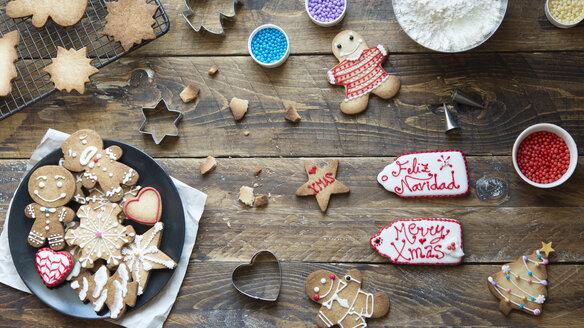 Home-baked Gingerbread Cookies - SKCF00483