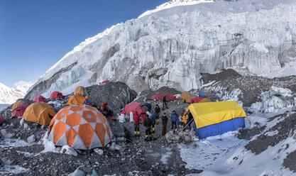 Nepal, Solo Khumbu, Everest, Sagamartha National Park, western Cwm, Camp 2 - ALRF01230